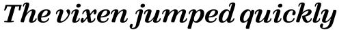 FF Quixo OT Medium Italic sample