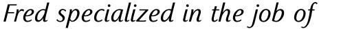 Sassoon Primary Com Italic sample