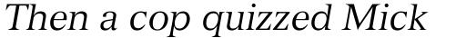 Versailles Com 56 Italic sample