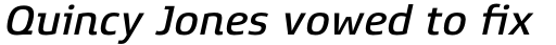 Xenois Super Medium Italic sample