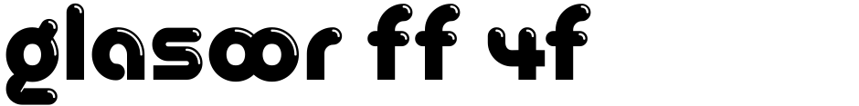 Click to view Glasoor FF 4F font, character set and sample text