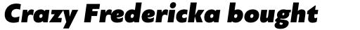 PF Bague Sans Pro UltraBlack Italic sample