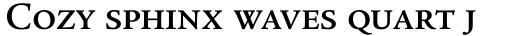 Legacy Serif Medium SC sample
