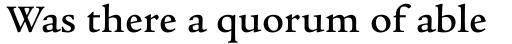 Legacy Serif Medium sample