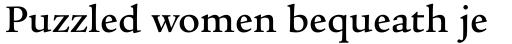 Legacy Serif Medium OS sample