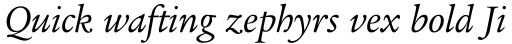 Legacy Serif Book Italic OS sample