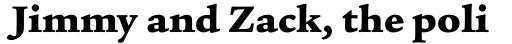 Legacy Serif Ultra sample