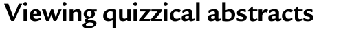 Legacy Sans OS Bold sample