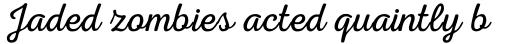 Nexa Rust Script L 1 sample