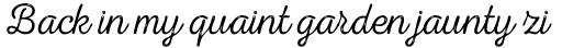 Nexa Rust Script T 2 sample