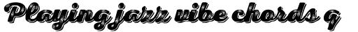 Nexa Rust Script H Shadow 3 sample