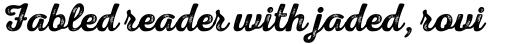 Nexa Rust Script S 3 sample