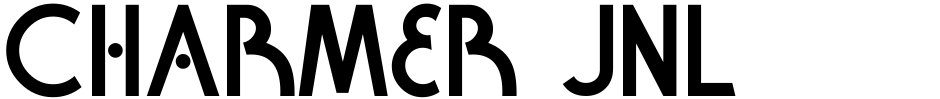 Click to view Charmer JNL font, character set and sample text