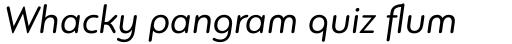 PF Bague Round Pro Italic sample
