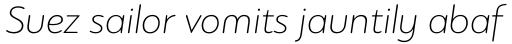 PF Bague Round Pro Thin Italic sample
