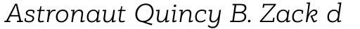 PF Bague Slab Pro Light Italic sample