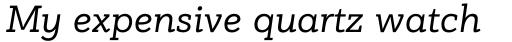 PF Bague Slab Pro Italic sample