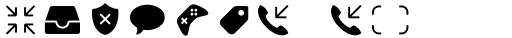 Panton Icons B Fill Regular sample