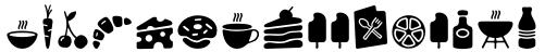 PH Icons Food Black sample