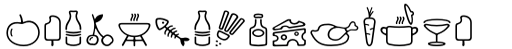 PH Icons Food sample