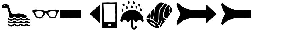 Click to view RNS Ahumada font, character set and sample text