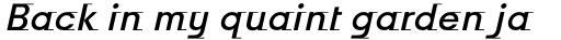 Odyssée Medium Italic sample