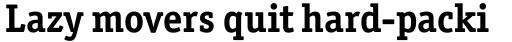 Officina Serif Bold sample