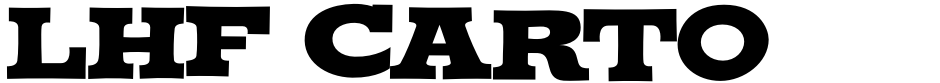 Click to view LHF Cartoon Cowboy font, character set and sample text