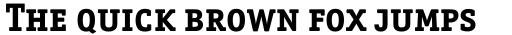 Officina Serif Bold SC sample