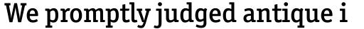 Officina Serif Medium sample
