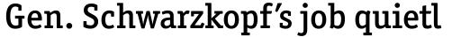 Officina Serif Medium OS sample