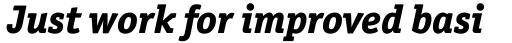 Officina Serif ExtraBold Italic sample