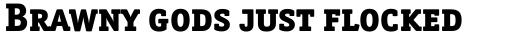 Officina Serif ExtraBold SC sample