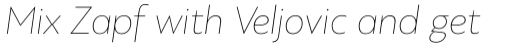PF Bague Sans Std ExtraThin Italic sample