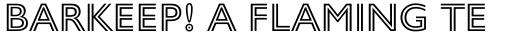 Gill Sans Nova Inline sample