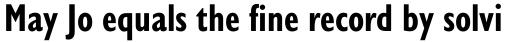 Gill Sans Nova Cond Bold sample