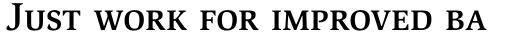ITC Slimbach Medium SC sample