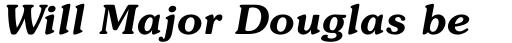 ITC Souvenir Demi Italic sample