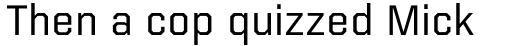 Kairos Sans sample