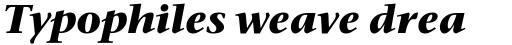 Stone Serif OS Bold Italic sample