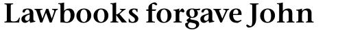 Stone Serif OS SemiBold sample