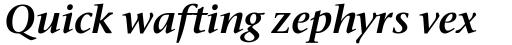 Stone Serif SemiBold Italic sample