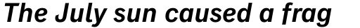 Classic Grotesque Pro-SemiBoldd Italic sample