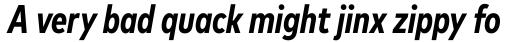 Mark Pro Cond Bold Italic sample