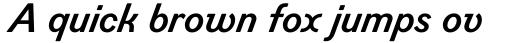 Figgins Standard Bold Italic sample