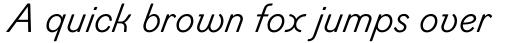 Figgins Standard Italic sample
