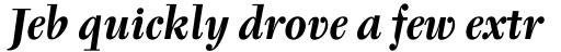 Tyfa Bold Italic sample
