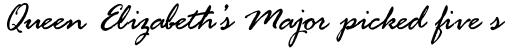 Rage Italic sample