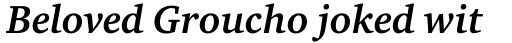 ITC Charter Bold Italic sample