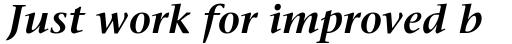 ITC Stone Serif Com SemiBold Italic sample